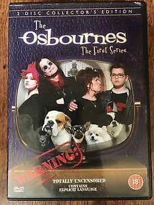 OZZY-OSBOURNE-THE-OSBOURNES-Stagione-1-2002-COMMEDIA-SERIE-2-Disc-UK-DVD