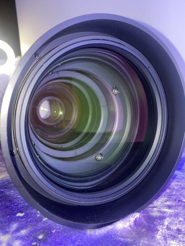 "Christie ILS Lens 2.8-4.5:1 SX+ / 2.6-4.1:1 HD 0.95""  PROJECTOR Long Throw Lens"