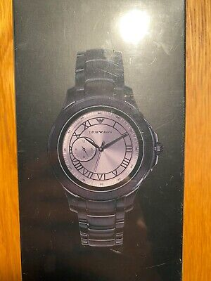 Emporio Armani Connected Generation 4 Smartwatch Black Stainless Steel