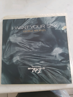 """George Michael I want your sex 12"""" single"""