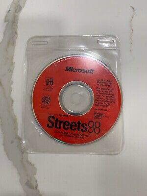 Microsoft Expedia Streets 98 (CD-ROM) Find & Map U.S. Street Addresses  ()