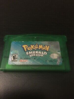 Pokemon Emerald Version (Game Boy Advance, 2005) TESTED Dry Battery