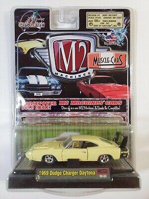 CASTLINE M2 MACHINES DETOIT MUSCLE 1969 DODGE CHARGER DAYTONA RELEASE #2  (2008
