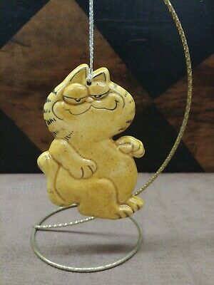 Vintage Garfield the Cat Christmas Ornament Garfield Christmas Ornament