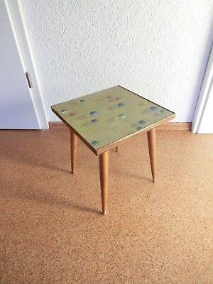 Antiker Blumenhocker 50 er 60er 70er Jahre Kleinmöbel OPAL