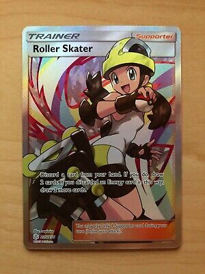 Pokemon Roller Skater Full Art Trainer Cosmic Eclipse Tag Team 235/236 New Mint