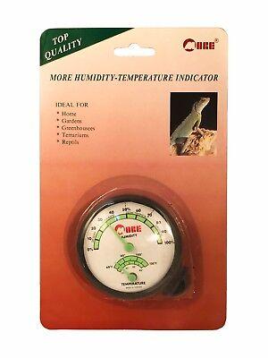 Humidity Temperature Indicator Thermometer Hygrometer Gauge Fahrenheit   Celsius