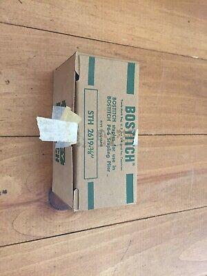 Bostitch Staples 38 Sth 2619 For P6-6 Stapling Plier 5000 Vtg Stanley Tool