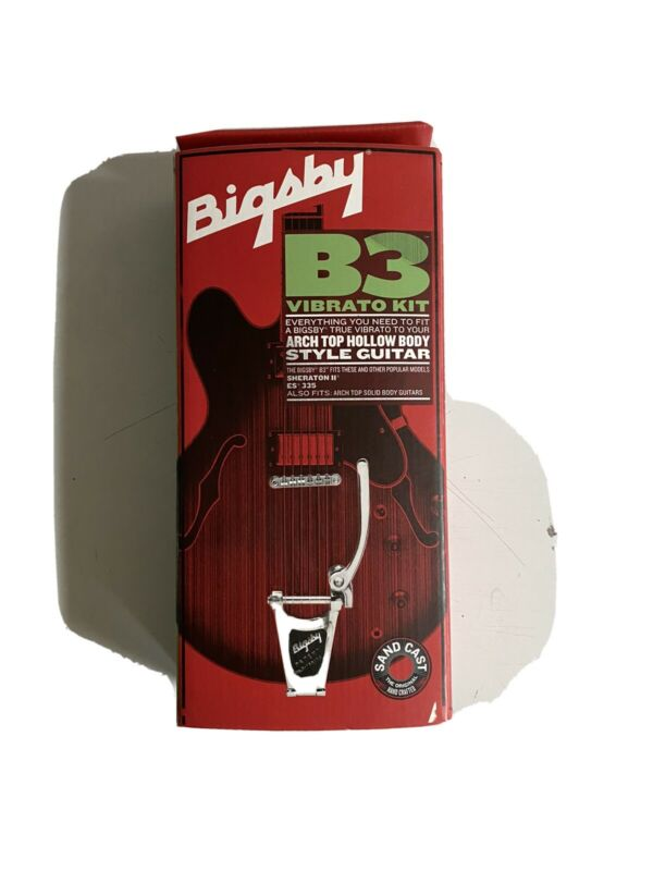 Bigsby B3 Vibrato with Vibramate! No Drilling Necessary!