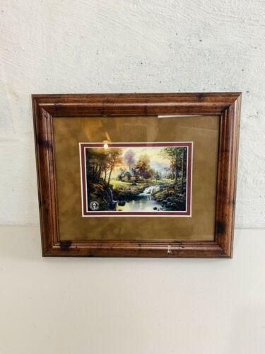 Thomas Kinkade Painter of Life Cabin Painting