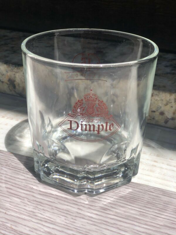 Haig Dimple 15 Year Old Scotch Whiskey Rock Glass