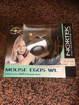 Nortek Wireless Optical Mouse Aufladbar Neu Ovp