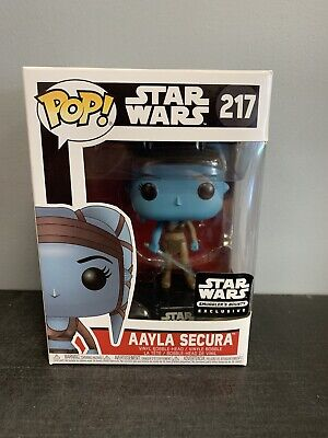 Funko Pop Star Wars Smugglers Bounty Exclusive Aayla Secura #217