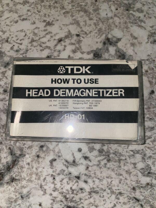 TDK HD-01 Head Demagnetizer for Cassette Tape Deck