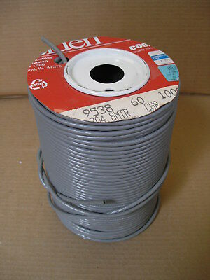 100 Ft. Belden 9538 24 Awg 8c Pvc Computer Cable For Eia Rs-232 Wire