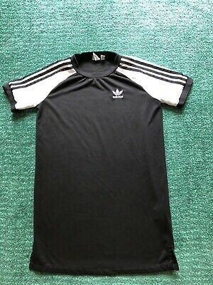 USED ADIDAS BLACK DRESS UK 6