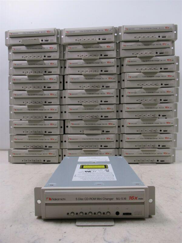 Nakamichi MJ-5.16 CD-ROM 5 Disc Mini Changer 16X Max SCSI Interface