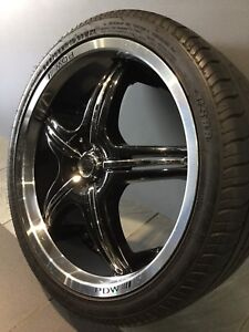 """PDW STAR 19"""" ALLOY WHEELS AND TYRES Carramar Fairfield Area Preview"""
