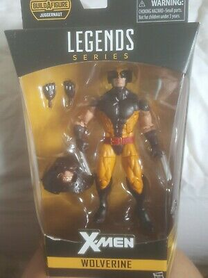 MARVEL LEGENDS WOLVERINE JUGGERNAUT WAVE