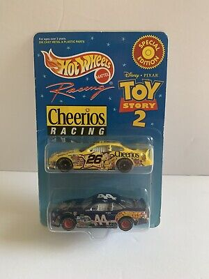 1999 HOT WHEELS SPECIAL EDITION TOY STORY 2 CHEERIOS RACING