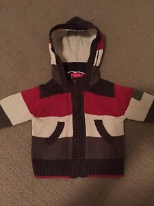 Sprout knitted zip up jacket Soldiers Point Port Stephens Area Preview
