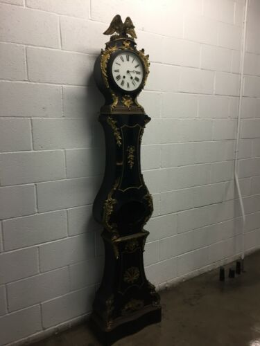 Antique Victorian Version of FRENCH BOULLE Floor Standing Clock w/Ormolu quality