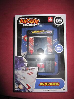 Atari 05 ASTEROIDS Arcade Classics Mini Arcade Game Retro Style NEW