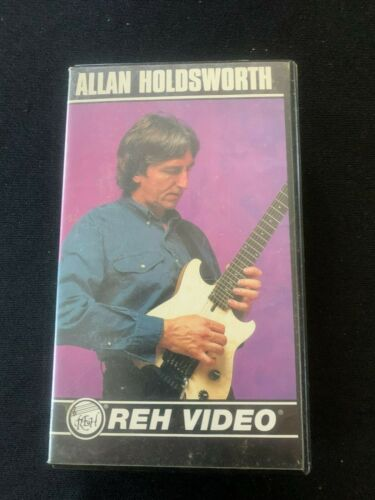 Alan Holdsworth instructional video REH VHS Steinberger