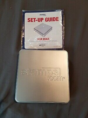 Stamps.com Scale 5 Lbs Model 510 No Usb Cord Af