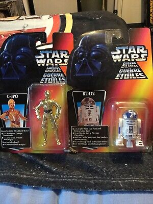 STAR WARS- R2-D2 AND C-3PO FIGURE SET -KENNER(1996)