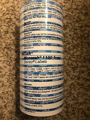 Blue Grocery Price Labels For Monarch 15 Count 1100 Series 1110 1105 1107 1103