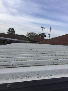 """Colorbond roof sheets,""""U""""steel beams gutters,mesh and downpipes Parramatta Parramatta Area Preview"""
