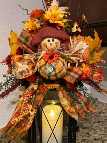 Scarecrow lantern swag