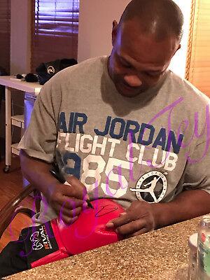 Roy Jones Jr Autographed Boxing Glove