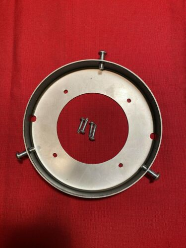 """New 6"""" Steel Gas Pump Globe Ring  -  Globe Holder  - Gas & Oil - Made in USA"""