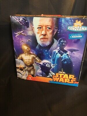 Disney Star Wars Panorama Jigsaw, 3 Puzzle Makes 1 Panorama. Brand New!