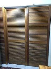 Louverd sliding door - Cupboard , Wardrobe, Laundry door Chapel Hill Brisbane North West Preview