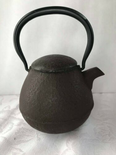 Tetsubin Japanese tea ceremony Kettle cast iron old teapot.