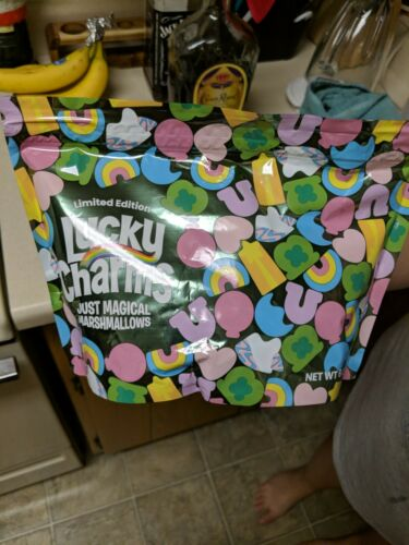 Sold Out In Stores LIMITED EDITION LUCKY CHARMS ONLY JUST MAGICAL MARSHMALLOWS  - $9.00