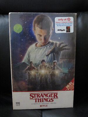 Stranger Things Season 1 Target Exclusive 4 Disc 4K Uhd   Blu Ray New Sealed