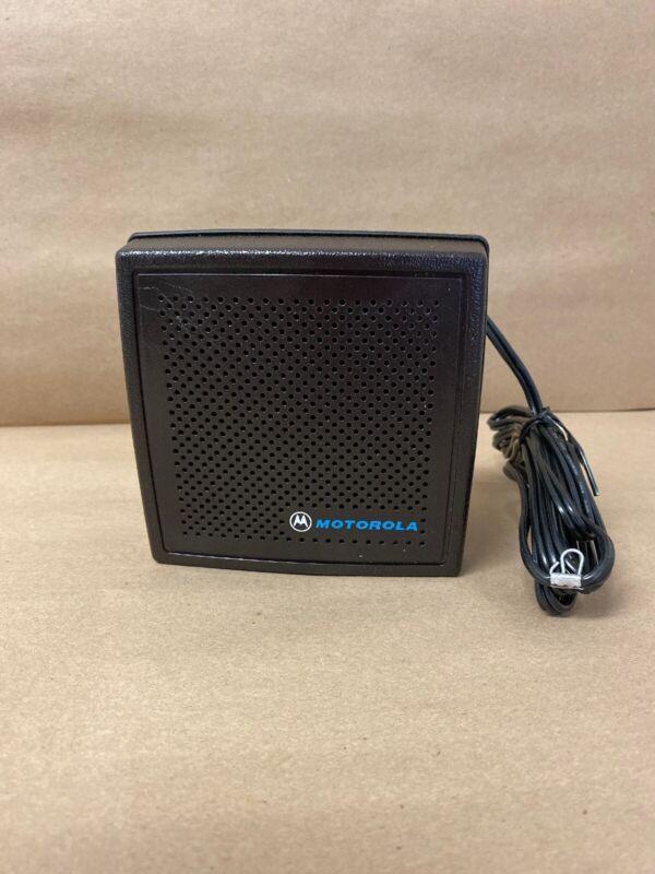Motorola HSN4031B HSN4031A External Speaker w/ Bracket USED