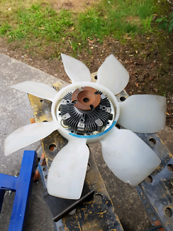 Viscous hub and fan