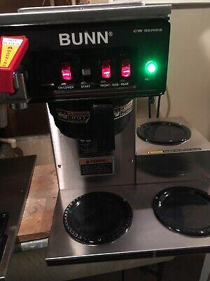 Bunn Cwtf15 -3 Pf 3 Lower Burners Commercial Coffee Maker Machine 12950.0212