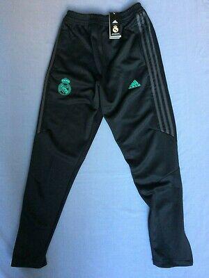 NEW Adidas Climacool Real Madrid track training sweat pants black size Large
