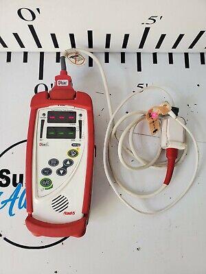 Masimo Rad-5v Handheld Pulse Oximeter With Finger Sensor