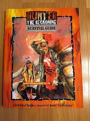 Hunter Survival Guide Hunter the Reckoning WW8102 new White Wolf