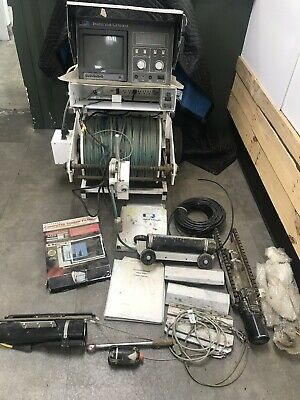 Cues Inspector General Sm301 Sd304x Inclinometer Sewer Pipeline Camera Winch