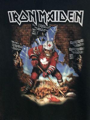 Iron Maiden 2017 Canada Event Shirt XL