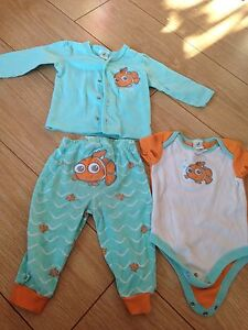 Nemo Outfit 9 Months