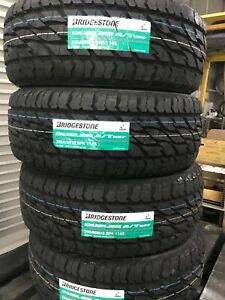 Brand new 265/65R17 LT Bridgestone dueler 697 AT tyres